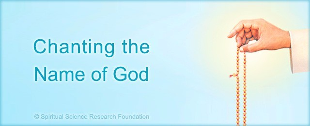 Chanting the name of God?