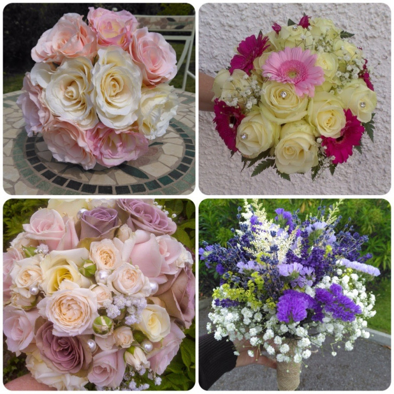 June's Blooms - professional and experienced freelance wedding florist in Offaly and Westmeath