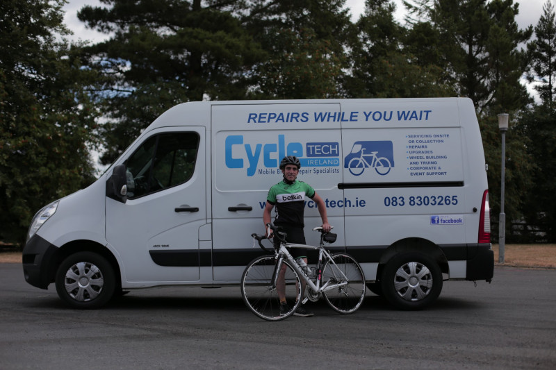 CycleTech has just gone online, if you need anything repaired or serviced on your bicycle just drop me an email or call me on 0873122834