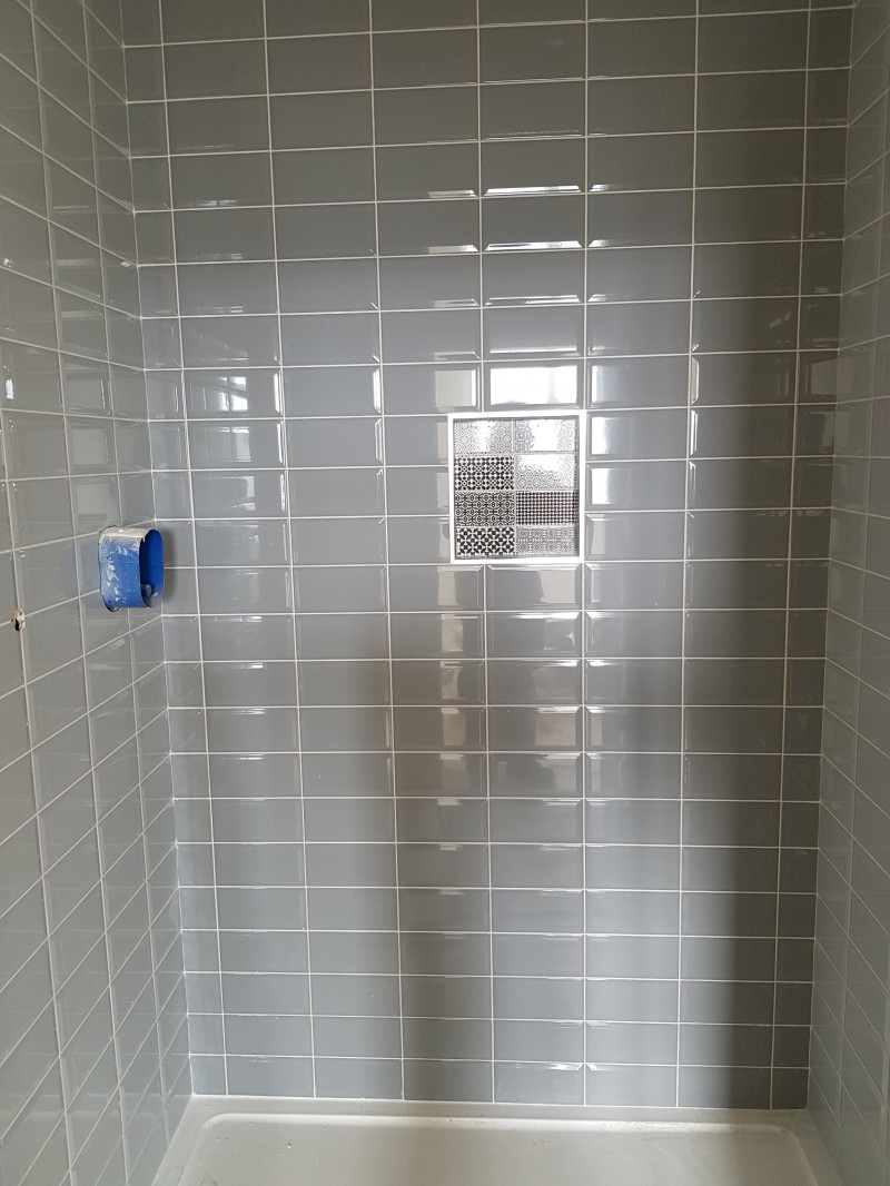 Just finished 53 of these showers in castleknock.Time consuming but look well