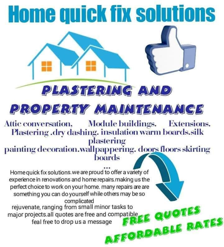 Home Quick Fix Soloutions