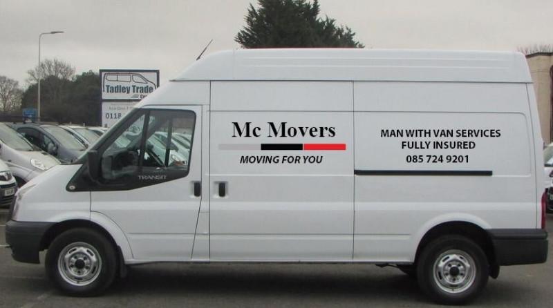 Man with a Van Service - Kildare.