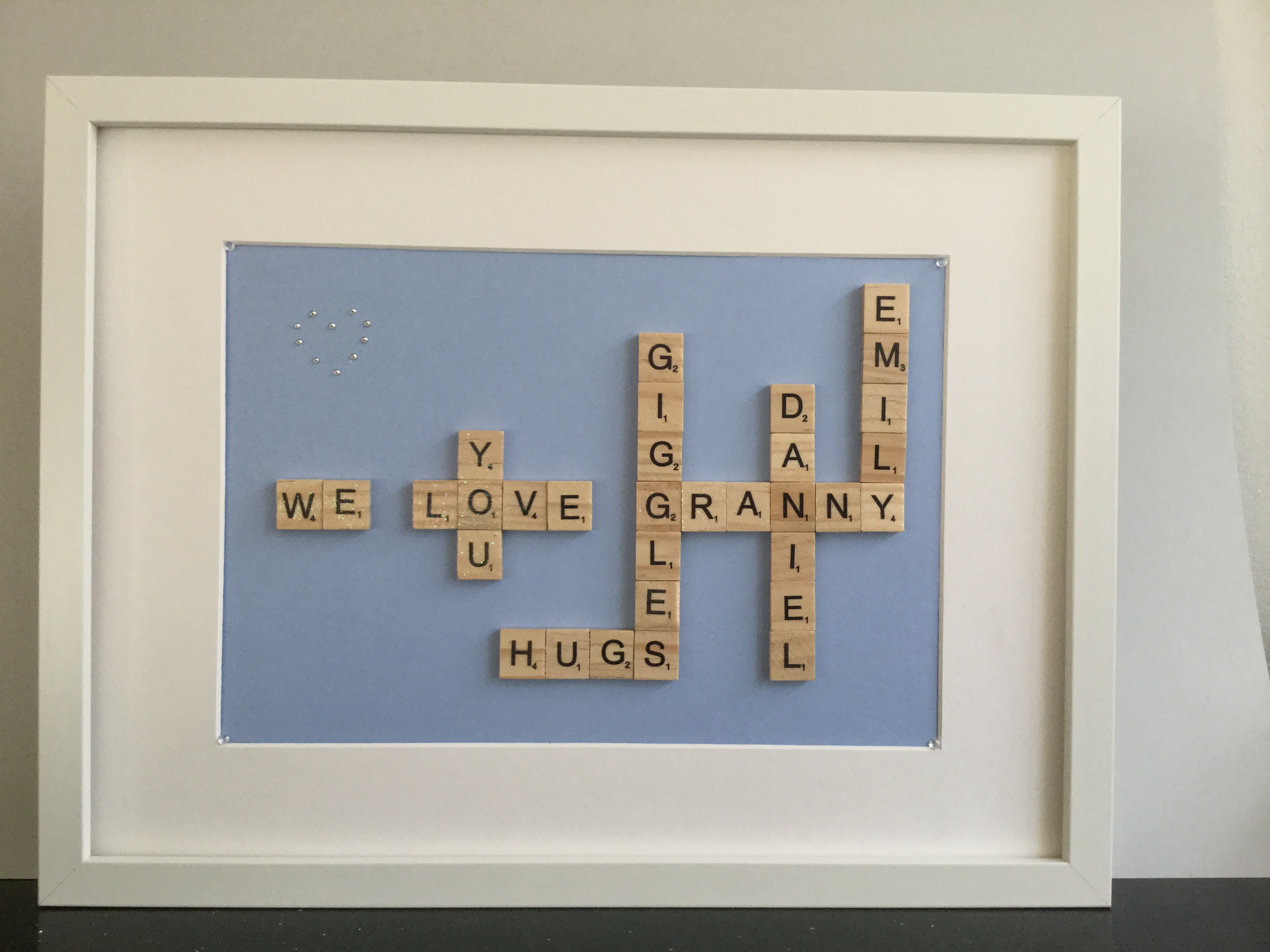 Scrabble Word Frame For Granny Product Details