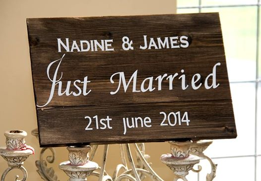 Wedding Plaques now available