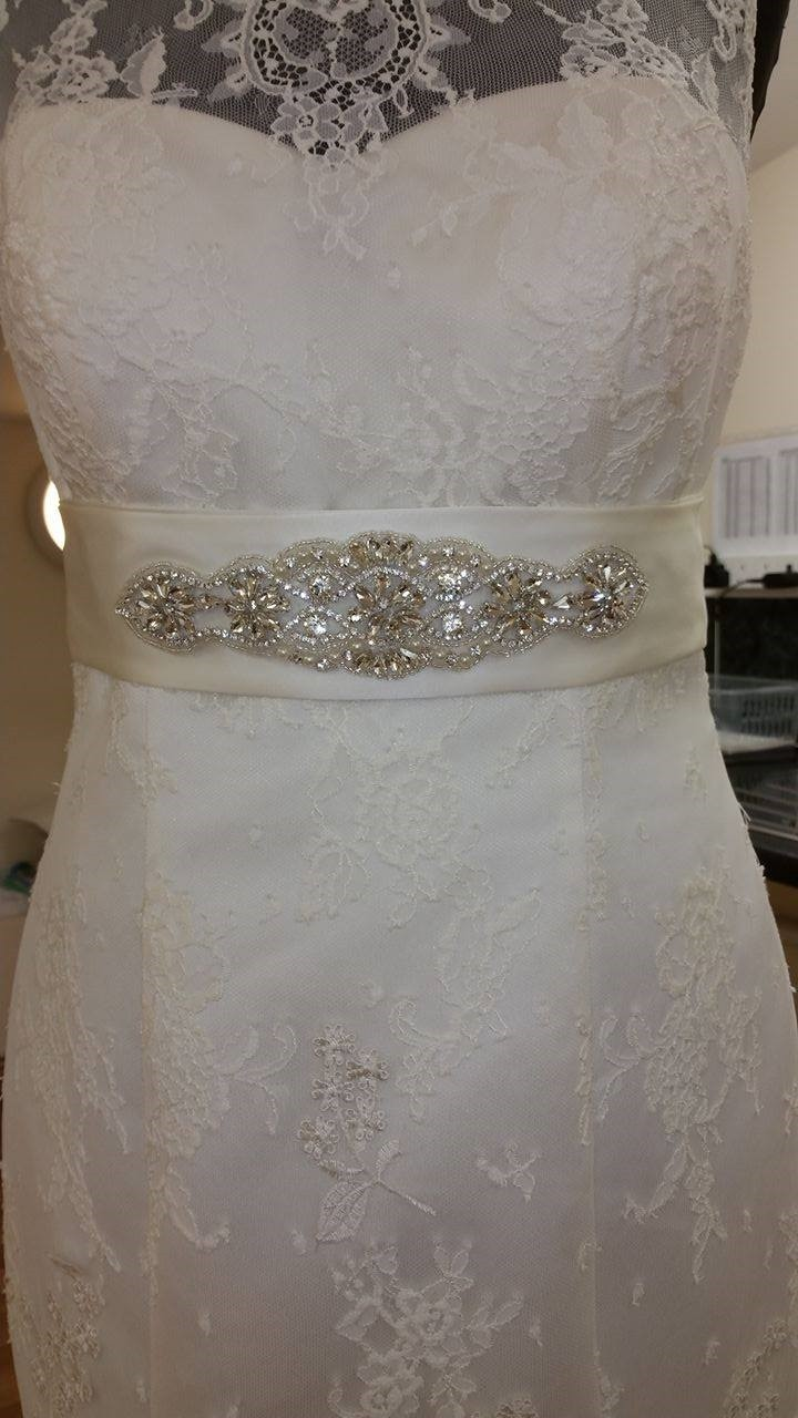 Selection of bridal belts available
