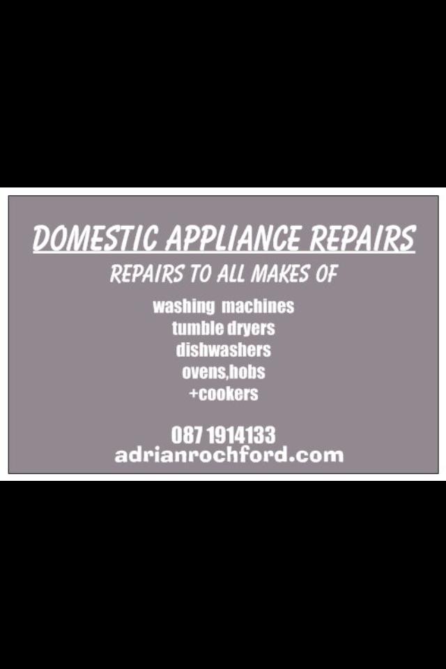 Adrian Rochford Domestic Appliance Repairs Clonmel