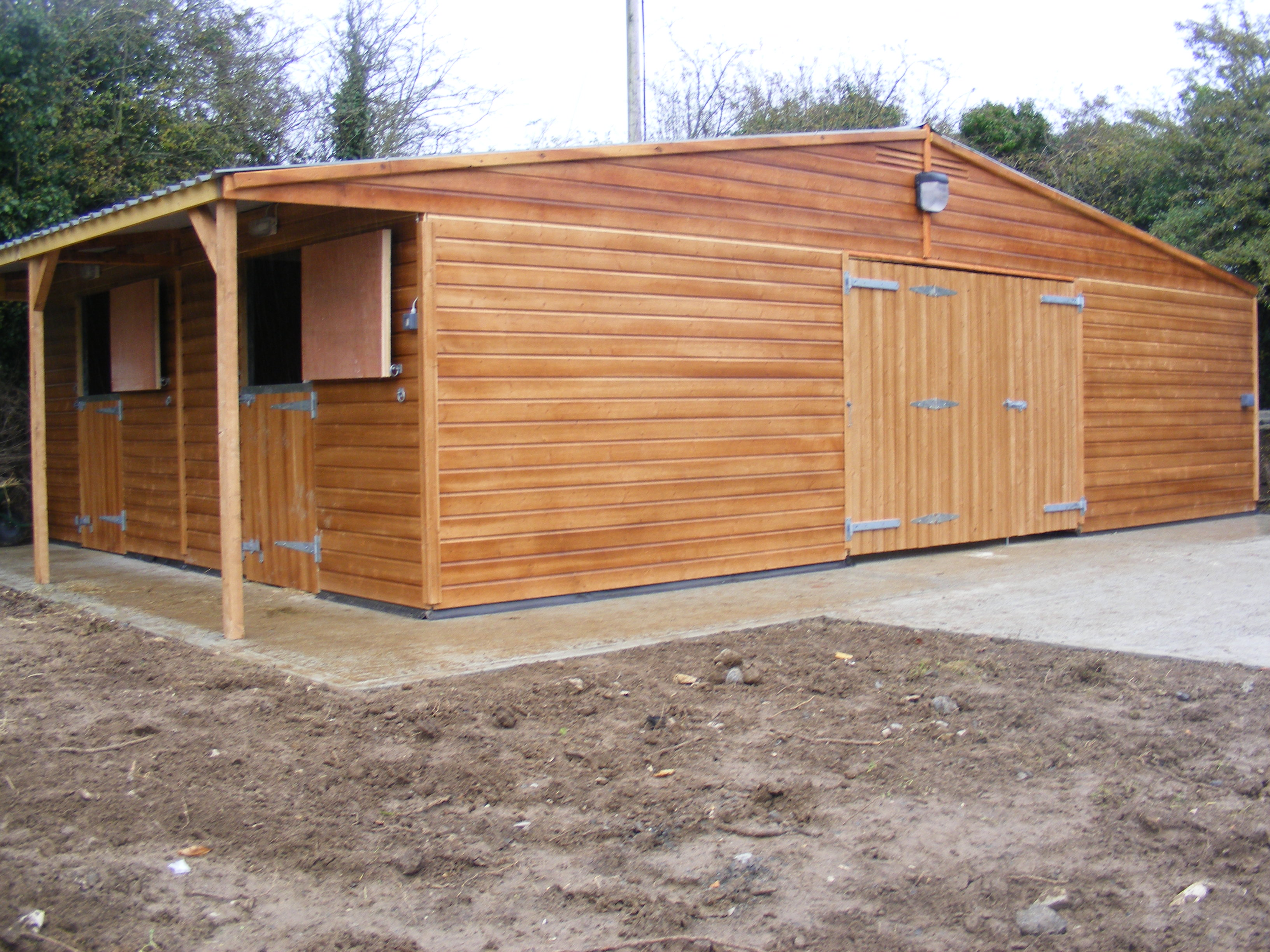 Garden Sheds Tipperary horseworld stables - quality equestrian buildings tipperary ireland