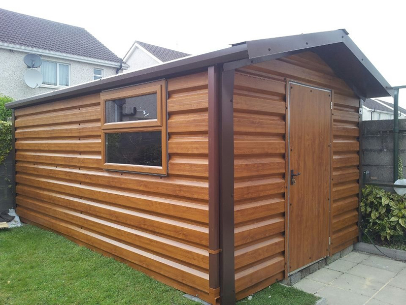 image may contain car contemporary garden sheds galway sheds